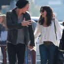Vanessa Hudgens was spotted hand in hand with her boyfriend, Austin Butler, while out in Los Angeles, December 18
