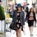 Fearne Cotton: pictured in central London