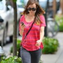 Olivia Wilde In Tight Pants Out In Nyc