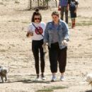 Lucy Hale – Taking her dog Elvis to a park in Los Angeles - 454 x 324