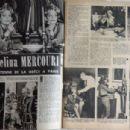 Melina Mercouri - Festival Magazine Pictorial [France] (25 April 1961) - 454 x 304