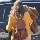 Leighton Meester – Shopping candids in Pacific Palisades