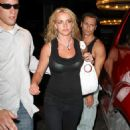 Britney Spears - Black Top While Out And About In Hollywood - August 10 2008