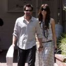 Kate Beckinsale And Husband Len Wiseman Shop At Fred Segal In Santa Monica,2009-05-24