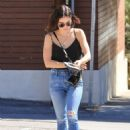 Lucy Hale in Ripped Jeans – Out in LA