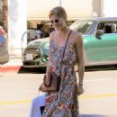 Selma Blair out for lunch at Joan's on Third in Studio City