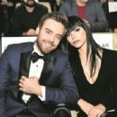 "Merve Bolugur & Murat Dalkiliç attends ""Bizans Oyunlari"" Movie Premiere in Istanbul"