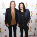 Gilby Clarke and Warren DeMartini attend Omnipeace 2nd Annual Gala