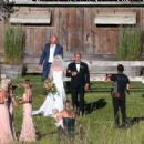 Julianne Hough–Marries Brooks Laich in an outdoor wedding in Cour d 'Alene