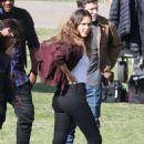 "Jessica Alba - ""L.A.'s Finest"" Filming 01/28/2019"