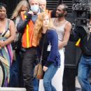 Amy Adams Performs on the Set of 'Sharp Objects' - 439 x 600