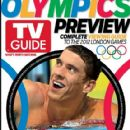 Michael Phelps - TV Guide Magazine Cover [United States] (30 July 2012)
