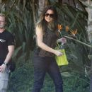Khloé Kardashian: arrived at Jenner Productions' office in Woodland Hills