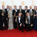 2013 Emmy Awards - Press Room and Backstage Photo Gallery - 454 x 291