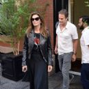 Cindy Crawford – Leaving her hotel in New York