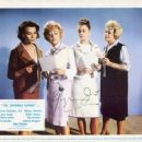 Jane Fonda, Shelley Winters, Claire Bloom, Glynis Johns, The Chapman Report (1962) - 454 x 366