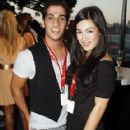 Melanie Vallejo and Firass Dirani