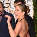 Jennifer Aniston At The 72nd Golden Globe Awards (2015)