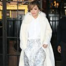 Rita Ora in White Coat – Out and about in New York City - 454 x 766