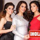 Bibi Gaytan Poses With Teenage Daughters For Hola