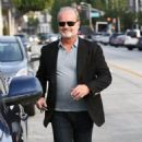 Kelsey Grammer and his wife Kayte Walsh are spotted out and about in West Hollywood, Calfiornia on January 8, 2015