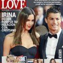 Cristiano Ronaldo, Irina Shayk - LOVE Magazine Cover [Spain] (28 January 2015)