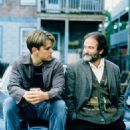 Robin Williams and Matt Damon in Good Will Hunting (1997) - 454 x 586