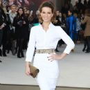 Kate Beckinsale: at the Burberry Fall/Winter runway show at London Fashion Week 2013
