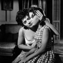 Polly Bergen as Peggy Bowden and Lori Martin as Nancy Bowden in 'Cape Fear'. - 454 x 568