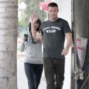 Megan Fox - in tights out to lunch in California 12/15/10
