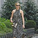 Kate Upton and Justin Verlander walk their dog Harley in New York City
