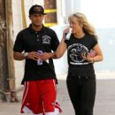 Romeo Miller and Chelsie Hightower