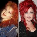 Cyndi Lauper ... Then and Now