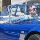 Aaron Paul was spotted cruising around West Hollywood, California on April 4, 2016 - 454 x 312