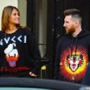 Lionel Messi and Antonella - 454 x 302