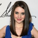 Alison Brie - Irina Shabayeva Fall 2010 Fashion Show During Mercedes-Benz Fashion Week At SIR Stage On February 13, 2010 In New York City