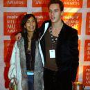Jonathan Rhys-Meyers and Reena Hammer