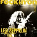 rockin´ on Magazine Cover [Japan] (January 1991)