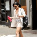 Vanessa Hudgens Out In Ny