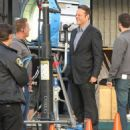 Vince Vaughn is spotted on the set of the hit HBO series 'True Detective' filming in Los Angeles, California on January 30, 2015 - 454 x 542