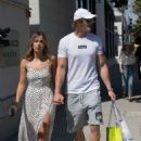 Chloe Bennet and boyfriend Logan Paul – Shopping in Beverly Hills - 454 x 633