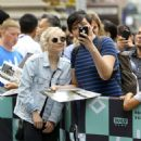 Emily Kinney – Arriving at AOL Build Series in New York City - 454 x 454