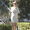 Nicole Richie Leaving A Restaurant In Sydney