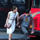 """Adam Levine Shoots """"Can a Song Save Your Life"""" with Keira Knightley"""
