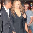 Mariah Carey - Nick Cannon's 29 Birthday At The Bank Nightclub - Bellagio Resort Hotel Casino In Las Vegas (Oct 10 2009)
