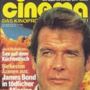 Cinema Magazine Cover [Germany] (August 1981)