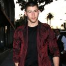 Nick Jonas was seen heading out to dinner at Craig's in West Hollywood, California on April 1, 2017