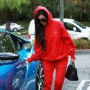 Kourtney Kardashian celebrating a friend's birthday at Lovis Restaurant in Calabasas, California on January 9, 2017 - 444 x 600