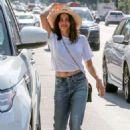 Jenna Dewan Tatum in Jeans in Studio City