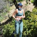 Ashley Madekwe – Out for a morning jog in the Hollywood Hills
